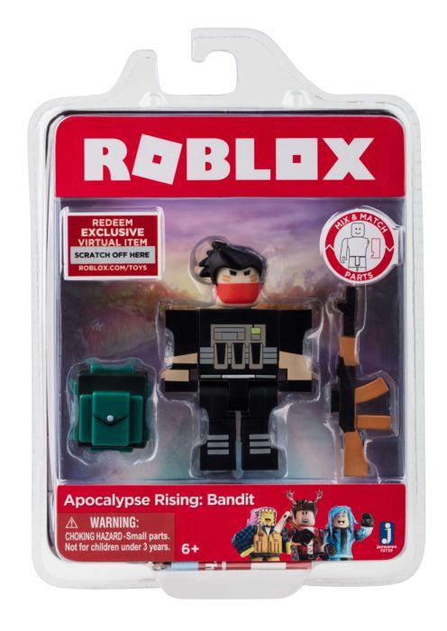 ผมคอโจร I Have A Bandit Roblox Apocalypse Rising Roblox Apocalypse Rising Bandit 3 Action Figure By Jazwares Popcultcha