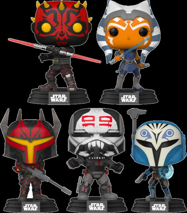 STAR Wars-The Clone Wars-mandos /& Commando-BO KATAN kryze FUNKO POP