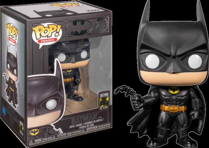 Batman 1989 Batman 80th Anniversary Funko Pop Vinyl Figure Popcultcha