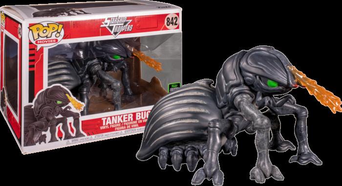 "Starship Troopers Vinyl Figure 2020 ECCC Tanker Bug Super-Sized 6"" Pop"