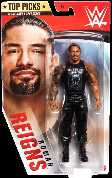 WWE Roman Reigns Top Picks Basic Figure Mattel 2020
