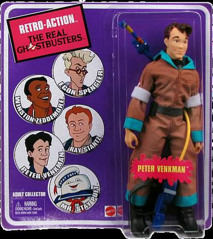 Retro Action Real Ghostbusters Figurine Peter Venkman