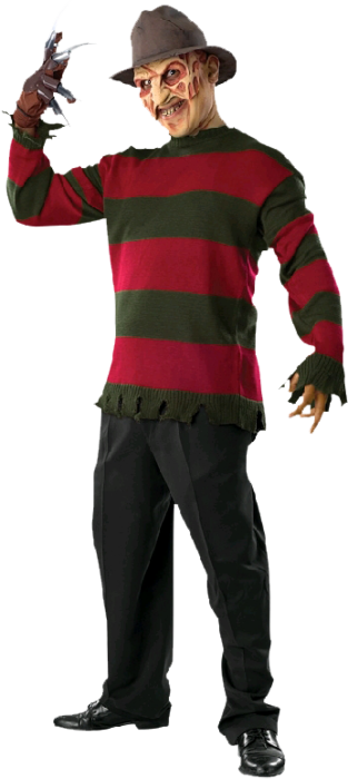 A Nightmare on Elm Street Freddy Krueger Deluxe Adult
