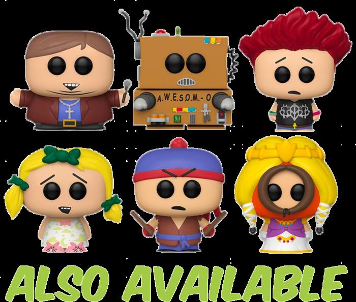 South Park Awesom O Unmasked Funko Pop Vinyl Figure Popcultcha