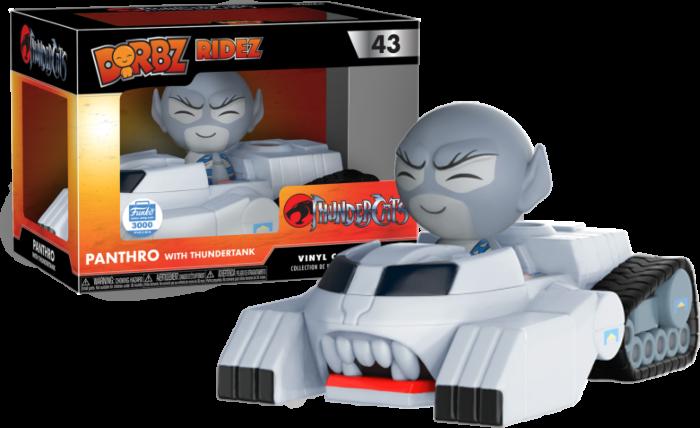 Thundercats - Panthro with ThunderTank Dorbz Ridez (Funko Exclusive)