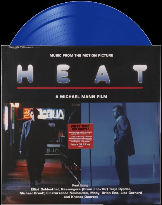 Heat 1995 Original Motion Picture Soundtrack 2xlp Vinyl Record Limited Edition Blue Vinyl By Warner Records Popcultcha