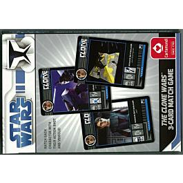 Star Wars 3-Card Match Game Clone Cartamundi Kombinationsspiel
