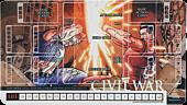 Marvel Civil War Playmat Main Image