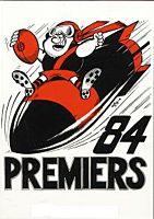AFL - WEG  Essendon 1984 AFL Card Set