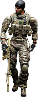"""Medal of Honor Warfighter - Tom Preacher Play Arts Kai 10"""" Action Figure"""