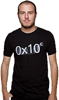 0x10c - Logo Limited Edition Male T-Shirt