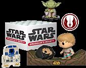 Star Wars - Dagobah Face-Off Smugglers Bounty Funko Pop! Subscription Box