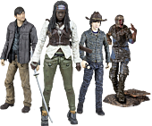 "The Walking Dead - TV Series - 5"" Action Figure Assortment Set of 4 (Series 7)"