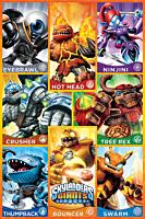 Skylanders - Skylanders Giants - Orange Character Squares Poster