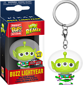 Toy Story - Alien Remix Buzz Lightyear Glow in the Dark Pocket Pop! Vinyl Keychain