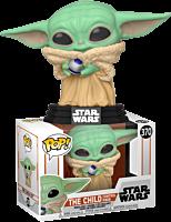 Star Wars: The Mandalorian – The Child (Baby Yoda) with Control Knob Funko Pop! Vinyl Figure