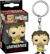 The Texas Chainsaw Massacre - Leatherface with Chainsaw Pocket Pop! Vinyl Keychain