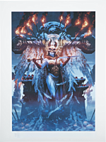 Kier: Valkyrie's Retribution Premium Art Print