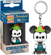 Disneyland: 65th Anniversary - Mickey Mouse with Matterhorn Bobsleds Attraction Pocket Pop! Vinyl Keychain