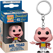 Disneyland: 65th Anniversary - Mr. Toad Pocket Pop! Vinyl Keychain