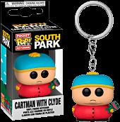South Park - Cartman with Clyde Pocket Pop! Vinyl Keychain