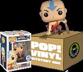Avatar: The Last Airbender - Aang Crouching 3,2,1 (Includes Aang Pop! Vinyl, 1 Mystery Pop! 2-Pack & 1 Mystery Pop! 3-Pack)