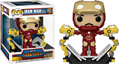 Iron Man 2 - Iron Man MKIV with Gantry Glow in the Dark Deluxe Pop! Vinyl Figure