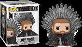 Game of Thrones - Ned Stark on Throne 10th Anniversary Deluxe Pop! Vinyl Figure