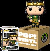 Loki (2021) - Kid Loki Metallic (Includes Kid Loki & 2 Mystery Exclusive Pop! Vinyl Figures)