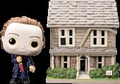 Halloween - Michael Myers Blood Splattered with Myers House Pop! Town Vinyl Figure