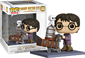 Harry Potter - Harry Potter Pushing Trolley 20th Anniversary Deluxe Pop! Vinyl Figure