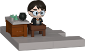 Harry Potter - Harry Potter with Potions Class Diorama Mini Moments Vinyl Figure