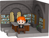 Harry Potter - Ron Weasley with Potions Class Diorama Mini Moments Vinyl Figure