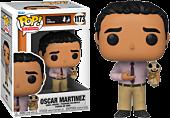 The Office - Oscar Martinez with Scarecrow Pop! Vinyl Figure