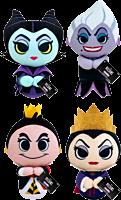 "Disney Villains - Ursula, Maleficent, Queen of Hearts & Evil Queen 4"" Plush Bundle (Set of 4)"