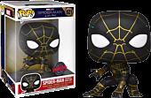 """Spider-Man: No Way Home - Spider-Man in Black & Gold Suit 10"""" Pop! Vinyl Figure"""