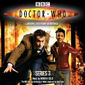 Doctor Who - Series 3 Original TV Soundtrack CD (Single Disc) Music by Murray Gold