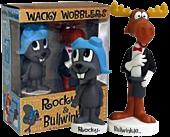 Rocky and Bullwinkle - Wacky Wobbler Bobble Head 2-Pack