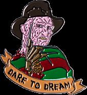 A Nightmare on Elm Street - Freddy Krueger 'Dare to Dream' Enamel Pin