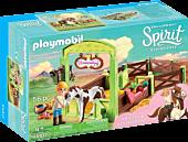 Spirit Riding Free - Playmobil Abigail and Boomerang Playset (9480)