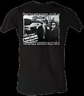 Blues Bros - Catch Us White Male T-Shirt 1