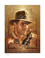 Indiana Jones - Indiana Jones: Pursuit of the Ark Fine Art Print by Jerry Vanderstelt