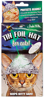 Archie McPhee - Tin Foil Cat Hat (One Size)