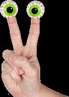 Archie McPhee - Eyeball Finger Puppet