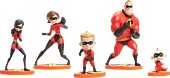 Incredibles 2 - Family Figure Pack (Set of 5) | Popcultcha