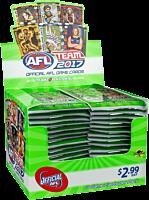 AFL Football - 2017 Team Game Card Display (36 Packs)