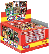 AFL Football - 2018 Team Booster Box (36 Packs) by Team Zone.
