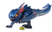 "Monster Hunter: World - Nargacuga 4"" PVC Statue"