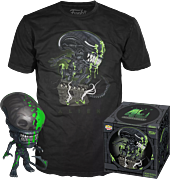 Alien - Xenomorph Blood Splatter 40th Anniversary Pop! Vinyl Figure & T-Shirt Box Set