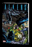 Aliens - The Original Years Omnibus Volume 01 Hardcover Book (DM Variant Cover)